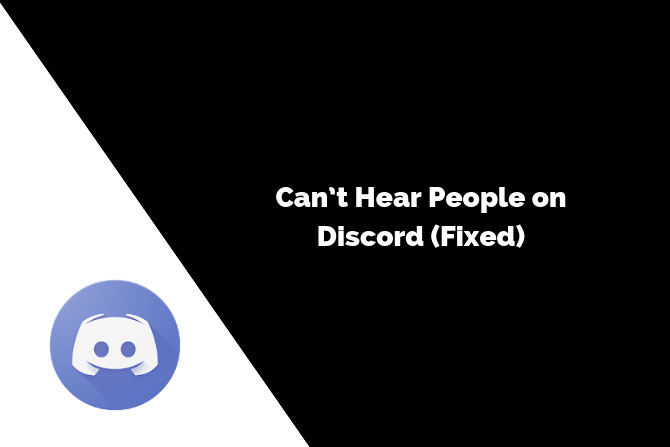Can't Hear People on Discord (Fixed)